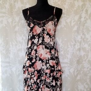 NWT Cad Nordstrom Floral Strappy Dress